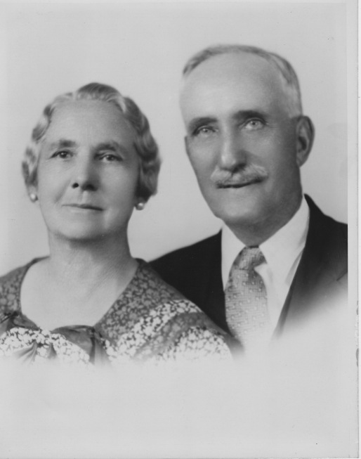 Mary Payne and James William Furlong, 50th Wedding Anniversary, 18 November 1941