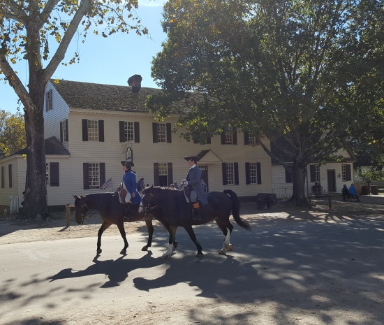 Scene in Williamsburg, Virginia
