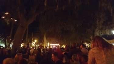 "Night of Lights, St. Augustine, Florida, ""Before"""