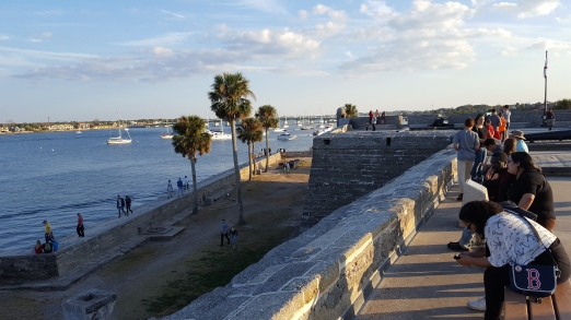 Mantazas Bay from Castillo de San Marcos