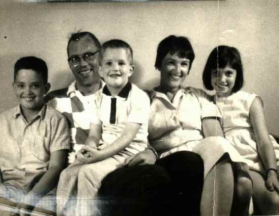 The five of us in the early 60's