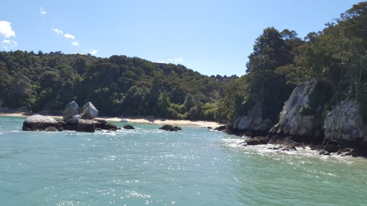 Some of the coastline of Abel Tasman National Park
