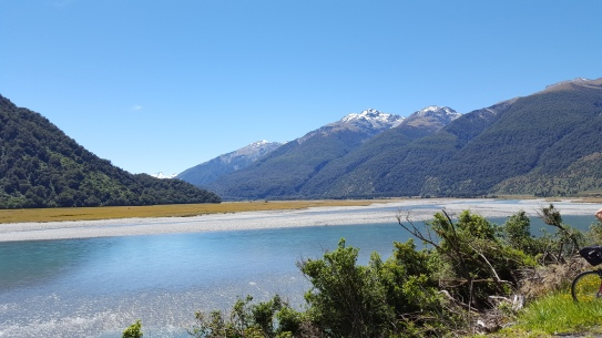 Haast River along Haast Pass