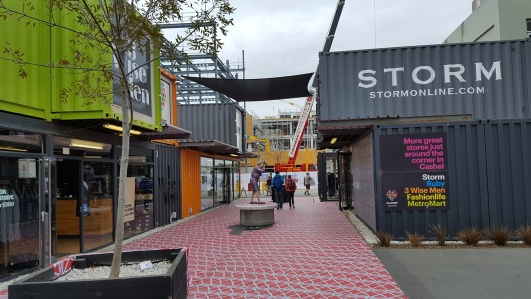 Container Shops in Christchurch, New Zealand