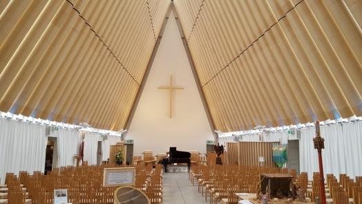 Transitional Church Interior, Christ Church, New Zealand